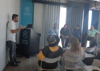 הנחיית פאנל ראשי ערים, קמפוס גוגל, תל-אביב
